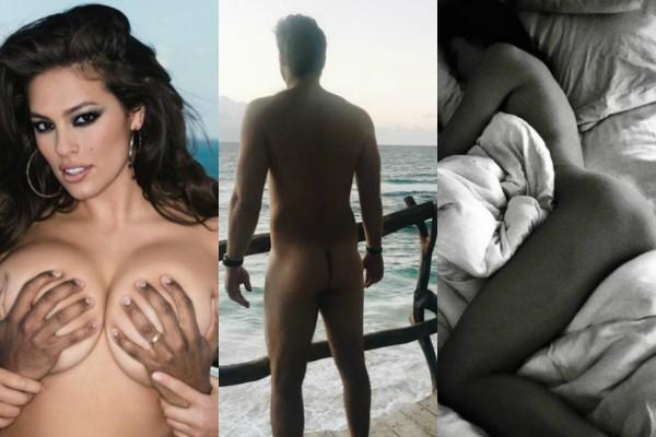 Celebs que compartilharam fotos íntimas de seus namorados ou cônjuges (Foto: Reprodução)