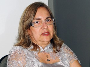 Maria Joilca Bezerra, secretária de Saúde de Natal (Foto: Ricardo Araújo/G1)