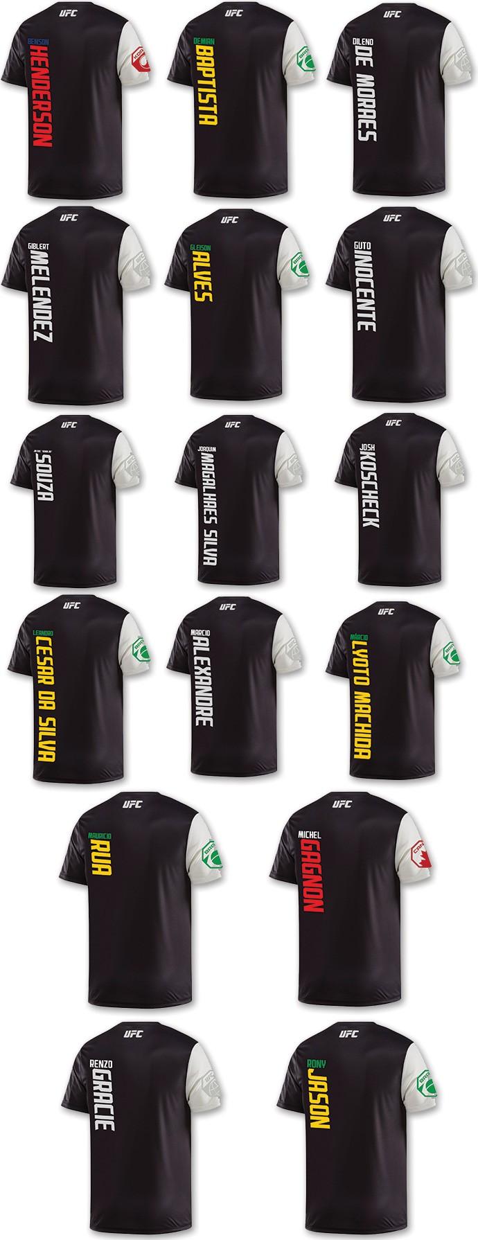 camisas lutadores UFC