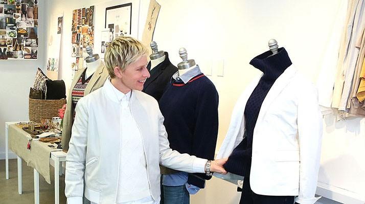Ellen com algumas de suas peças (Foto: Divulgação)