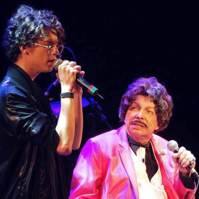 Ayrton Montarroyos fala sobre morte de Cauby Peixoto, com quem já dividiu o palco uma vez (Foto: Arquivo pessoal)