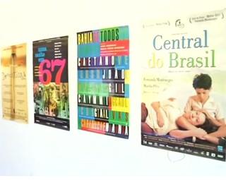 Cartazes de filmes nacionais contam história das nossas produções (Foto: Reprodução Rio Sul Revista)