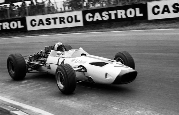 McLaren em 1966, seu ano de estreia (Foto: Divulgação)
