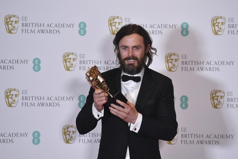 Casey Affleck foi o vencedor do Bafta na categoria de melhor ator por sua atuação em 'Manchester à beira-mar' (Foto: Ben Stansall/AFP)