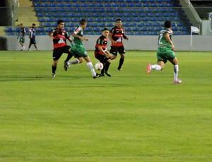 Em jogo truncado, Guarany de Sobral vence Maranguape no PV (Foto: Tom Alexandrino)