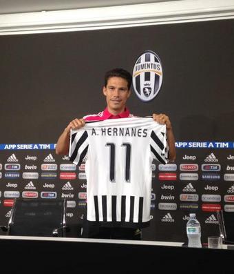 Hernanes Juventus (Foto: Reprodução / Twitter)
