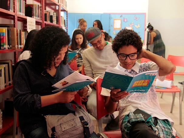 Papus, a plataforma de diálogo e relacionamento com o público jovem, aconteceu na Flip (Foto: Divulgação/Lucas Conrado)