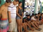 Operação prende 18 traficantes e garoto que agiam em praça de RR