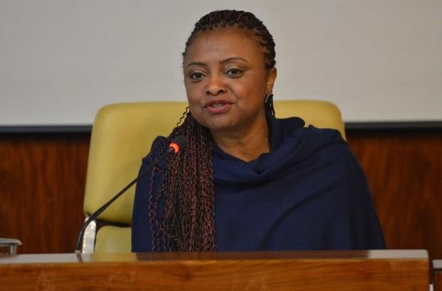 Nilma Lino Gomes é nova ministra de Cidadania (Foto: Divulgação/Presidência da República)