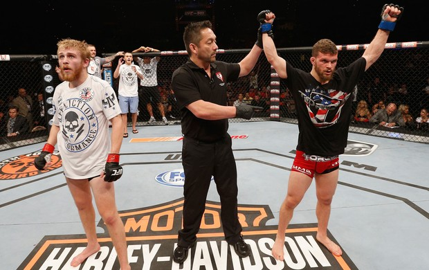 Dustin Scoggins x Justin Scoggins TUF  Finale (Foto: Getty Images)