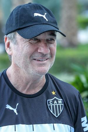 Levir Culpi, técnico do Atlético-MG (Foto: Bruno Cantini)