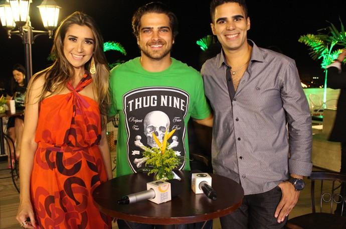 Bernardo Mesquita foi um dos convidados no 'Programão' especial de 1 ano (Foto: Reprodução/Rede Clube)