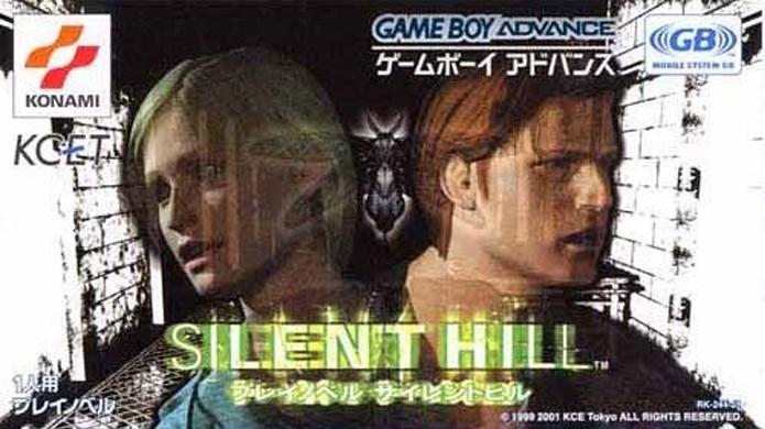 Silent Hill para GameBoy Advanced não tinha muita ação e era basicamente só texto e fotos (Foto: Silent Hill Historical Society)