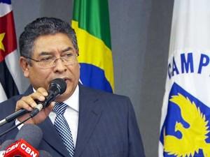 Demétrio Vilagra, ex-prefeito de Campinas (Foto: Reprodução EPTV)