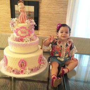 Ysis, filha de Wesley Safadão (Foto: Reprodução / Instagram)