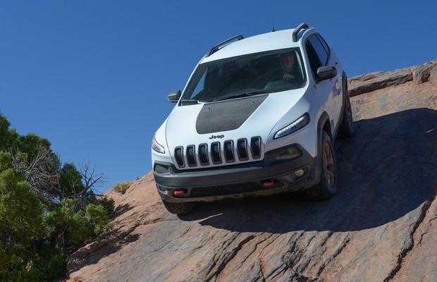 Jeep Cherokee Trailhawk (Foto: Divulgação)
