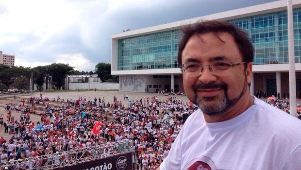 Sindicato tem assembleia marcada para definir sobre o fim da greve (Foto: Sabrina Coelho/ G1)