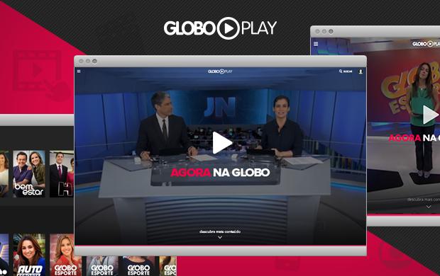 Globo Play é uma plataforma da Globo para assistir TV online (Foto: Divulgação/Globo Play/G1)