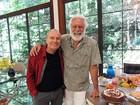 Stênio Garcia faz 83 anos e recebe recado da amada: 'Mudou minha vida'