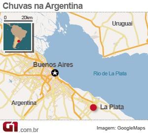 mapa chuvas argentina 3/4 (Foto: 1)