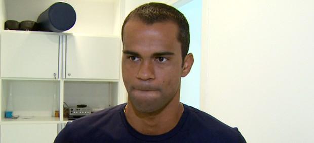 Júnior Negão, atacante do Guarani (Foto: Carlos Velardi / EPTV)