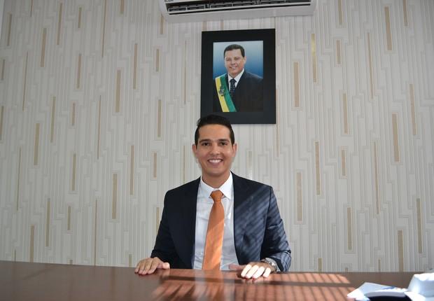 O candidato José Antônio, conhecido como Zé Antônio (PTB), substituiu José Gomes da Rocha, que foi assassinado  (Foto: Divulgação)