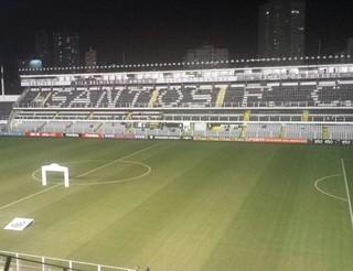 Vila Belmiro, Santos x Sport (Foto: Bruno Giufrida)