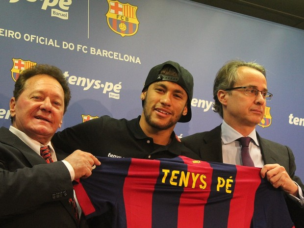 Baruel é a primeira empresa brasileira a fechar parceria com o clube FC Barcelona  (Foto: Divulgação)