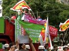 Em Belém, manifestação tem grupos a favor e contra Dilma Rousseff