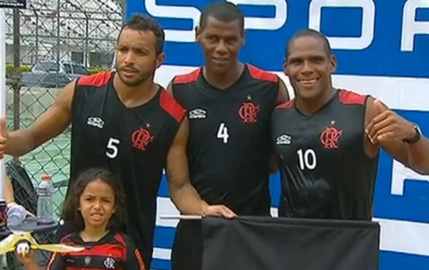 Flamengo vence 4&#170; etapa da Liga Nacional de Futev&#244;lei (Foto: Reprodu&#231;&#227;o SporTV)