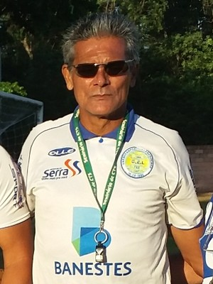 Vito Capucho já comandava os treinos do GEL para a Série B (Foto: Richard Pinheiro/GloboEsporte.com)