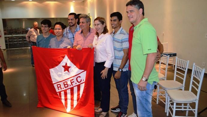 Posse da nova diretoria do Rio Branco-AC (Foto: Duaine Rodrigues)