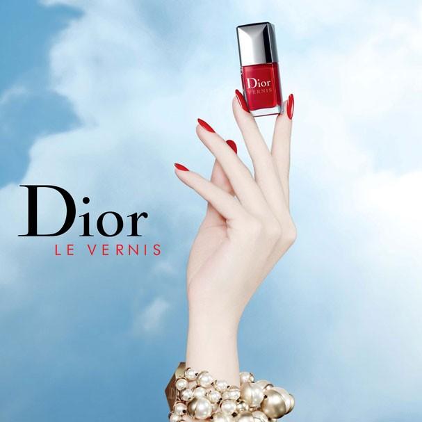 Campanha comemorativa dos 50 anos da Dior Vernis (Foto: Divulgação)