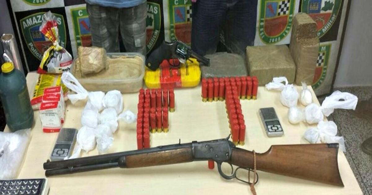 Membros de facção são presos com drogas e veículos roubados, no ... - Globo.com