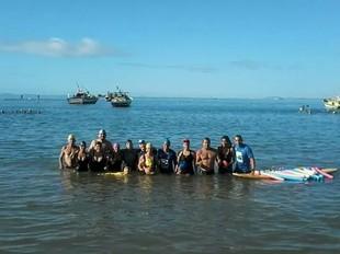 euatleta Melina Araujo Rei e Rainha do Mar (Foto: Arquivo pessoal)