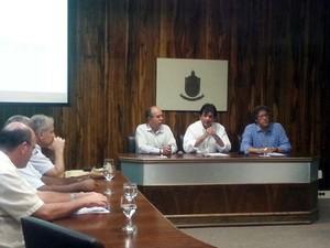 Reitor da Universidade Federal de Juiz de Fora (UFJF), Henrique Duque (Foto: Rafael Donizete/G1)