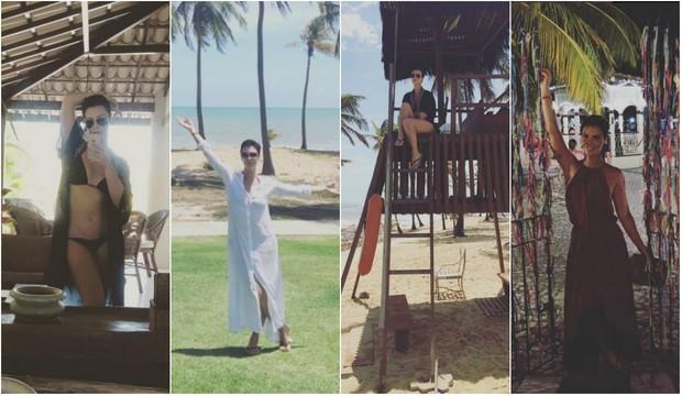 Camila Rodrigues na Bahia (Foto: Reprodução/Instagram)