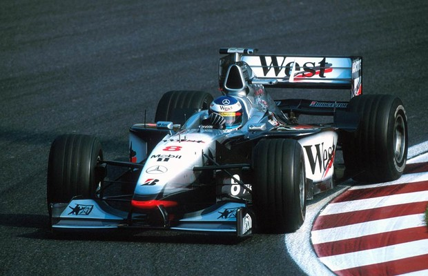 Mika Hakkinen, campeão com a McLaren em 1998 (Foto: Divulgação)