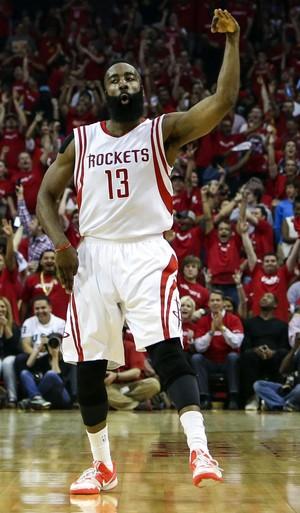 Houston Rockets x Dallas Mavericks playoffs nba James Harden (Foto: Reuters)