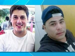 Suspeitos de agredir adolescente com mangueira em lava-jato de MS (Foto: Reprodução/ TV Morena)