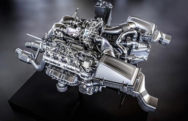 Motor M178 Mercedes Benz AMG (Foto: Divulgação)
