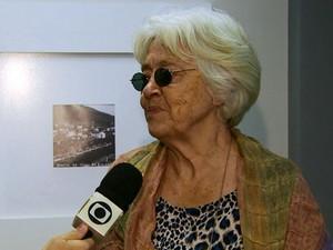 Adélia Prado no Flipoços, em Poços de Caldas (Foto: Michel Diogo / EPTV)