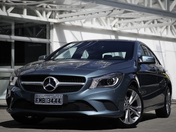 Mercedes-Benz CLA (Foto: Caio Kenji/G1)
