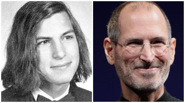 Steve Jobs: Quando pequeno, o pai de Jobs o ensinou a mexer com eletrônicos o que o inspirou, no futuro, a construir a Apple.  (Foto: Reprodução)