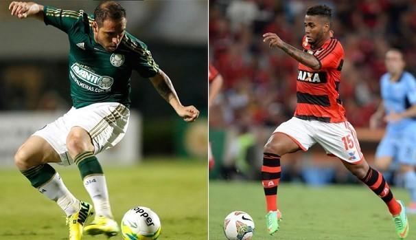Flamengo e Palmeiras jogam nesta quarta (Foto: Divulgação / TV Sergipe)