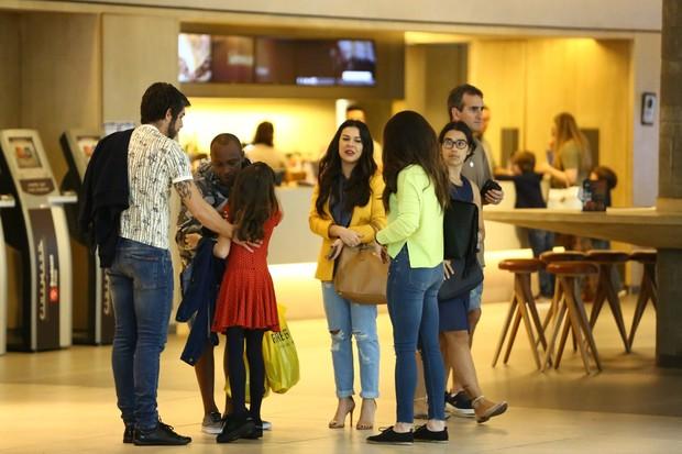 Thiaguinho e Fernanda Souza (Foto: Wallace Barbosa e JC Pereira/ AgNews-)