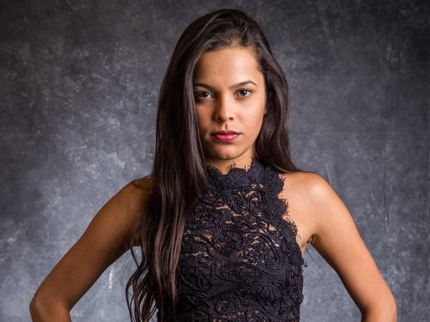 Mayla Araújo defende a irmã das acusações do ex-cunhado (Foto: Globo/Paulo Belote)
