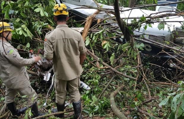 [Brasil] Piloto de avião que caiu e matou três fazia 1º voo após tirar licença, diz nora Bombeiro
