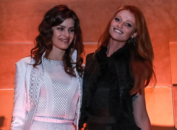 Isabeli Fontana e Cintia Dicker (Foto: Raphael Castello/AgNews)