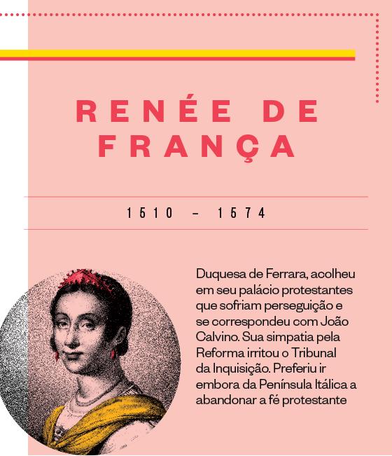 Ficha: Renee de França (Foto: Época)